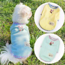 골지플라워티 강아지티셔츠 애견옷 강아지옷