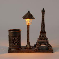 감성조명 에펠탑 연필꽂이 (브라운)