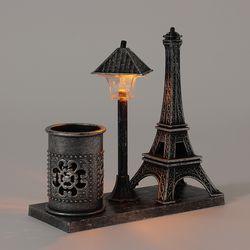 감성조명 에펠탑 연필꽂이 (블랙)