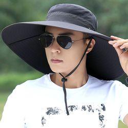 챙넓은 모자 자외선차단 챙모자 남자 등산 낚시 여름