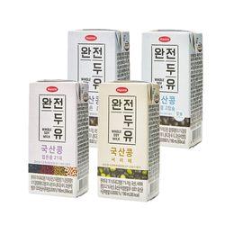 [무료배송] [한미]완전두유 국산콩두유 190ml 48팩 4종 택 선식건강식