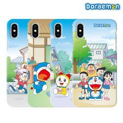 도라에몽 카툰 슬림케이스 아이폰12 미니