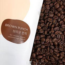 부드럽고 고소한 커피 브라운펀치 200g