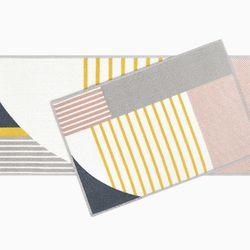 로나 옐로우 발매트-40x60