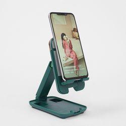 [리빙그로] 휴대용 접이식 스마트폰 (그린)