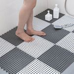 라이프공방 욕실 PVC 미끄럼방지 매트 화장실 발판 1P
