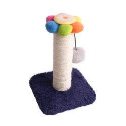 사각 싱글캣타워 소형 고양이 스크래처 장난감
