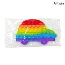 5000 레인보우 푸시팝 버블 자동차