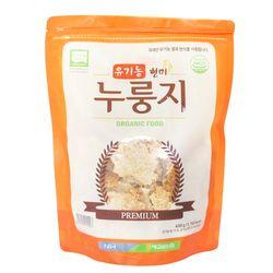 고소한 맛이 좋은 유기농현미 누룽지 500g