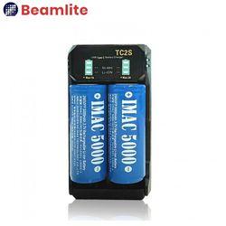 WB-C002 2구 충전기 18650 26650 겸용 리튬이온배터리 충전기