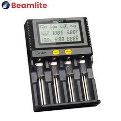 C4-12 4구 충전기 18650 26650 리튬이온배터리 충전기
