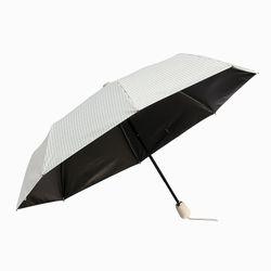 스트라이프 UV차단 완전자동 양우산 (화이트)