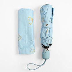 하트센스 UV차단 완전자동 양우산 (블루)
