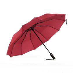 3단 완전자동 튼튼한우산 (레드)