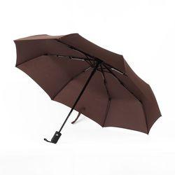 3단 완전자동 튼튼한우산 (브라운)