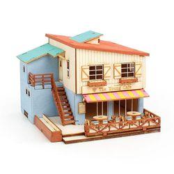 영공방 조립 HO 카페 하우스
