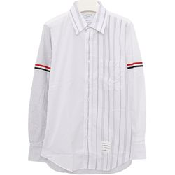 국내발송)톰브라운MWL301F 03113 100 스트라이프 셔츠