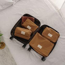 케이블랑 여행용 방수 파우치 4종 세트