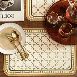 프리미엄 방수 PVC 식탁 테이블 매트  럭셔리