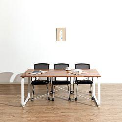데임 A형 원목 회의테이블 1500x800