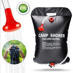 태양열 캠핑 샤워백 워터백 캠핑물통 물주머니 워터저그 20L