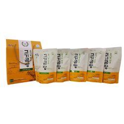 [무료배송] 유기농 한우고기곰탕 선물세트 500g X 5봉