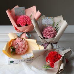 [어버이날] 비누카네이션 7P 꽃다발 (메세지텍포함)