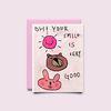 [drawingpaper] 카드 - smile is good
