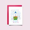 [drawingpaper] 생일카드 - 곰돌이
