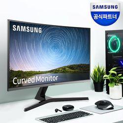 삼성 C32R500 32인치 LED 커브드 모니터 베젤리스 S