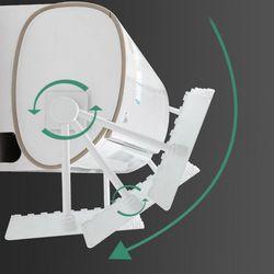 벽걸이 에어컨 바람가림막 길이조절 에어컨 바람막이