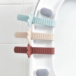 화장실 욕실 비데 변기 발바닥 변기손잡이 6개세트