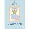 아기방 꾸미기 포스터 홈 인테리어 welcome baby