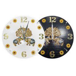 코끼리 돈나무 포인트 시계 풍수지리 인테리어 벽시계