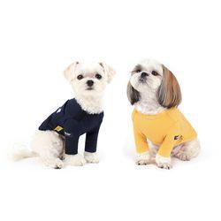 WEFAM ACE 티셔츠 네이비+옐로우 SET