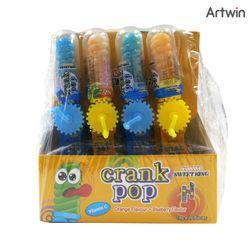 1200 스위트킹 크랭크 팝 비타민 캔디 10g BOX(20)