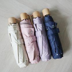 도트 플라워 UV차단 암막3단 20대 양산 우산 우양산 (4color)