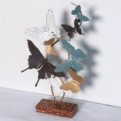 P15111141  철재 나비 장식소품-세로