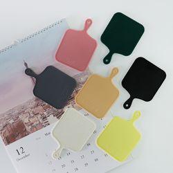 트리니 사각 실리콘 컵받침 7color 선택