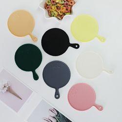 트리니 원형 실리콘 컵받침 7color 선택