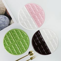 트리니 와플 실리콘 냄비받침 3color 선택