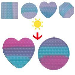 대형 20cm 색이 변하는 변색 푸쉬팝 팝잇 버블 뽁뽁이