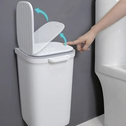 주방 싱크대 벽걸이 걸이식 접착식 원터치 쓰레기통