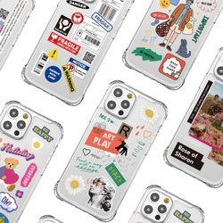 아이폰갤럭시갤럭시노트 피닉스 프로 클리어 그래픽 케이스