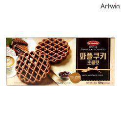 1200 와플 쿠키 초콜릿 100g