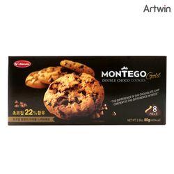 1200 몬테고 더블 초코 쿠키 80g