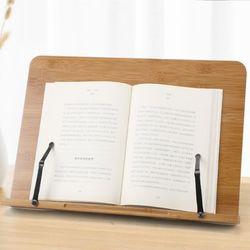 각도조절 태블릿 원목 독서대 책받침대 독서거치대 책거치대