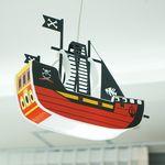 해적선 LED 수입 아이방 펜던트 조명 (램프포함)