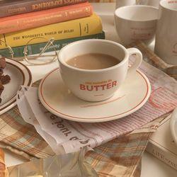 butter coffee 버터 커피잔 세트