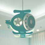 헬기 LED 수입 키즈 어린이 펜던트 조명 (램프포함)